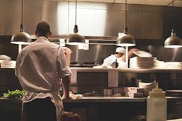 Kitchen, large