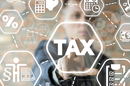 Tax icon, large